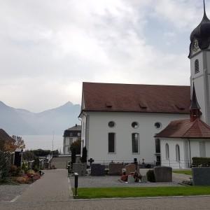 Beckenried St. Heinrich und Andreas Aussen