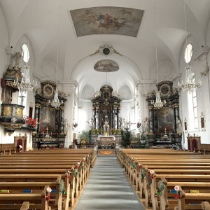 Beckenried St. Heinrich und Andreas Innenansicht (2)