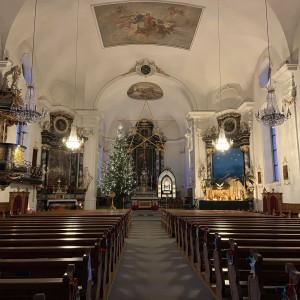 Beckenried St. Heinrich und Andreas Innenansicht (4)