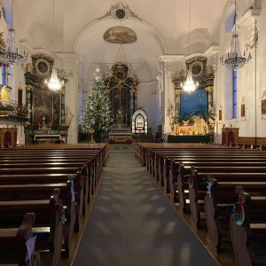 Beckenried St. Heinrich und Andreas Innenansicht (6)