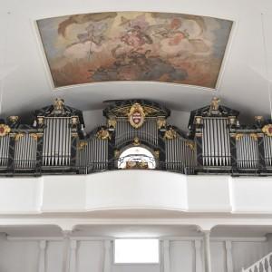 Beckenried St. Heinrich und Andreas Orgel Prospekt (1)