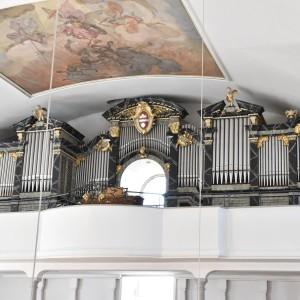 Beckenried St. Heinrich und Andreas Orgel Prospekt (4)