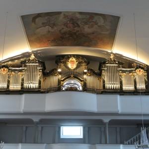 Beckenried St. Heinrich und Andreas Orgel Prospekt (5)