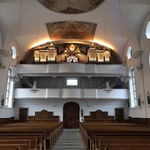 Beckenried St. Heinrich und Andreas Orgel Prospekt (6)