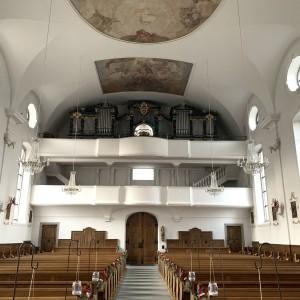 Beckenried St. Heinrich und Andreas Orgelprospekt (1)