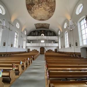 Beckenried St. Heinrich und Andreas Orgelprospekt (2)